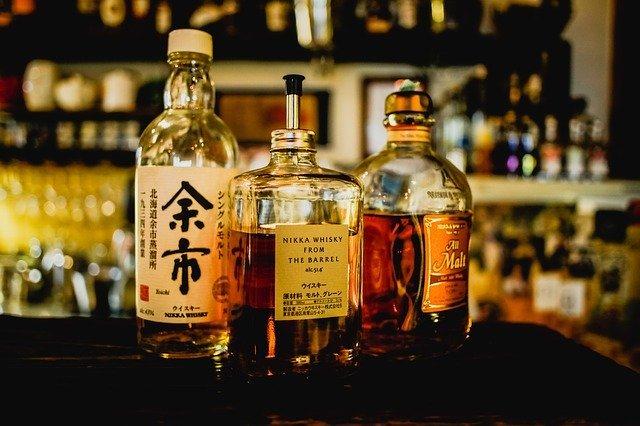 Unterschiedlichste Whiskys